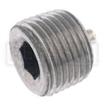 Plug, 1/8 Pipe, Zinc plated with sealent