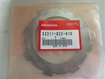 Plate, Friction, Clutch, 2 to 1 : Genuine Honda