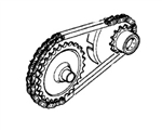 Chain, Gear Reduction, Genuine Honda