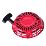Recoil Assembly, GX120 to GX200, UT2 New Style, Red : Genuine Honda