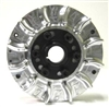 Flywheel, Billet, Small Diameter 6607, With Fins, GX200 & 6.5 OHV
