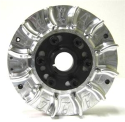 Flywheel, Billet, Small Diameter 6607, With Fins, GX390