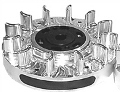 Flywheel, Billet, Adjustable 6618 - GX200, GX160, & 6.5 Chinese OHV