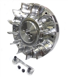 Flywheel, Billet, Digital Ignition (PVL), Fixed (bracket Included) - GX200, GX160, & 6.5 Chinese OHV