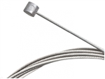 Throttle cable, Stainless, Barrel End, 1.5mm x 1700mm