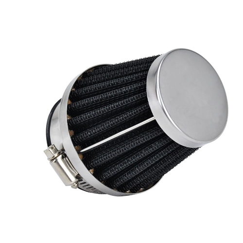 Air Filter, Race, Stainless Cone Style, Fits 22mm Mikuni, 3