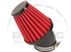 Air Filter, Race, Open Element, Angled for 22mm Mikunis