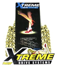 Chain, RLV Xtreme, Gold on Gold (High Performance), #35 - 120 link