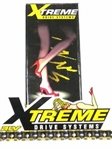 Chain, RLV Xtreme, Gold on Black (Performance), #35 - 106 link