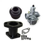 Carb Kit, 22mm Mikuni Round Slide, Economy Kit, GX200, 6.5 Chinese OHV, & 212 Predator