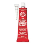 RTV Silicone Sealant & Gasket Maker, 3 oz. Tube, Red