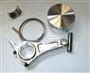 "Forged Piston & Long Rod Combo for GX200 & 196cc ""Clones, 3 Ring"