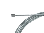 Throttle cable, Stainless, Mikuni End