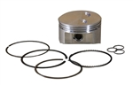 Piston, 92mm for 460s & GX390 Type Engines, Forged, Flat-Top w/rings