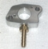 Vacuum Port Adapter/Spacer, Aluminum w/pulse fitting, Manifold - GX200,