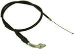 "Throttle cable, w/Sleeve, Mikuni End, 39"" (Mini - Bike)"