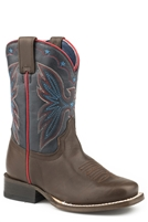 Roper Youth Girls' Finn Western Boots - Square Toe