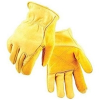 Salt City Sales Gloves Double Palm Cowhide