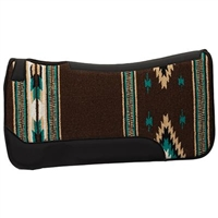 Weaver Contoured Single Weave Wool Blend Felt Saddle Pad