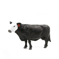 Little Buster Toys Black/White Face Cow
