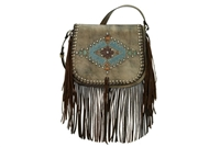 American West Pueblo Moon Collection- Charcoal