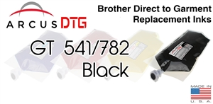 Arcus DTG Black Ink - Brother GT541/782 series compatible