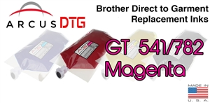 Arcus DTG Magenta Ink - Brother GT541/782 series compatible