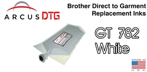 Arcus DTG White Ink - Brother GT782 series compatible