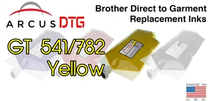 Arcus DTG Yellow Ink - Brother GT541/782 series compatible