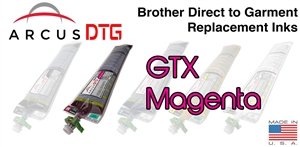 Arcus DTG Magenta Ink - Brother GTX series compatible