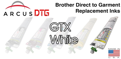 Arcus DTG White Ink - Brother GTX series compatible