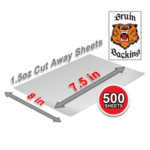 5315 1.5 CA  7.5x8 PM SS Sheets White (500 Sheets)