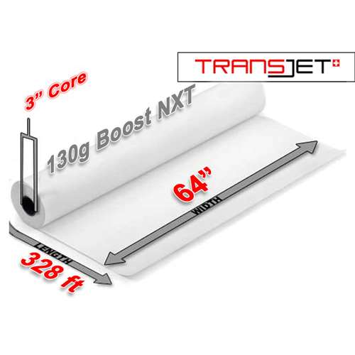"Cham Transjet Boost NXT Sublimation Paper 130g (64"" x 328FT)"