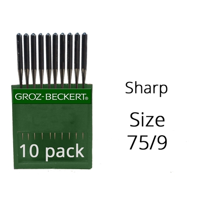 Groz Beckert Sharp Needles 65/9 (10 Pack)