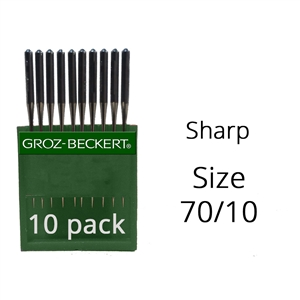 Groz Beckert Sharp Needles 70/10 (10 Pack)