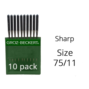 Groz Beckert Sharp Needles 75/11 (10 Pack)