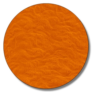 Orange Fuzz Flock 5 Yards