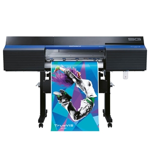 Roland TrueVIS SG-300 Solvent Printer with Cutting Plotter