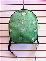Green Sequins Star Backpack
