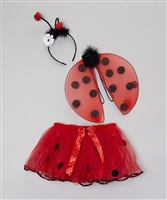 Lady Bug 3 Piece Set