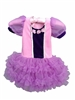 Two Tone Purple Princess Dress