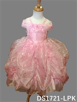 Sweet Pink Star Pick Up Dress
