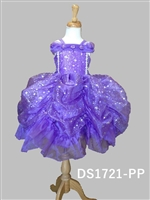 Purple Star Pick Up Dress