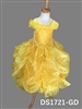Yellow Star Pick Up Dress