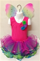 Multi Color Fairy Dress Up 3 Piece Set