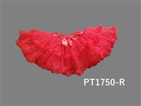 Red Sparkle Petti Skirt