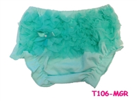 Mint Ruffle Bloomer