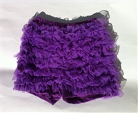 Purple Ruffle Bloomer