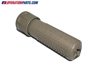 Knight's Armament 7.62mm QDC/CQB Suppressor, Flat Dark Earth