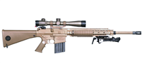 Knight's Armament M110 Limited Edition Deployment Kit With Suppressor
